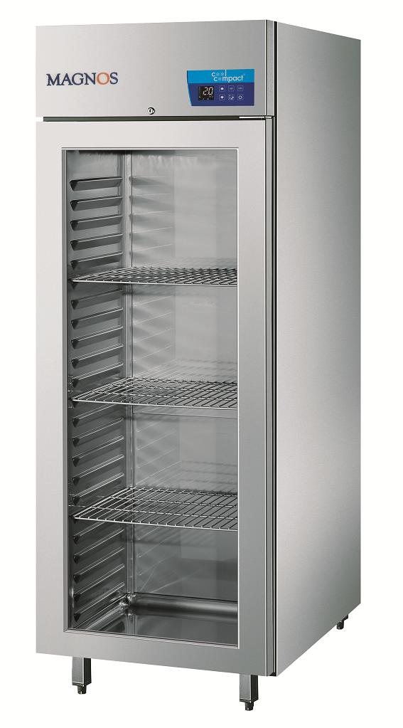 Cool Compact Glastür-Tiefkühlschrank Magnos 570 - Gastro Kurz