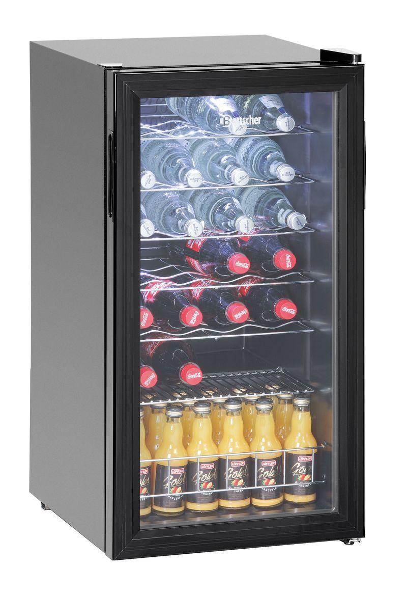 Bartscher Flaschenkühlschrank 88L - Gastro Kurz