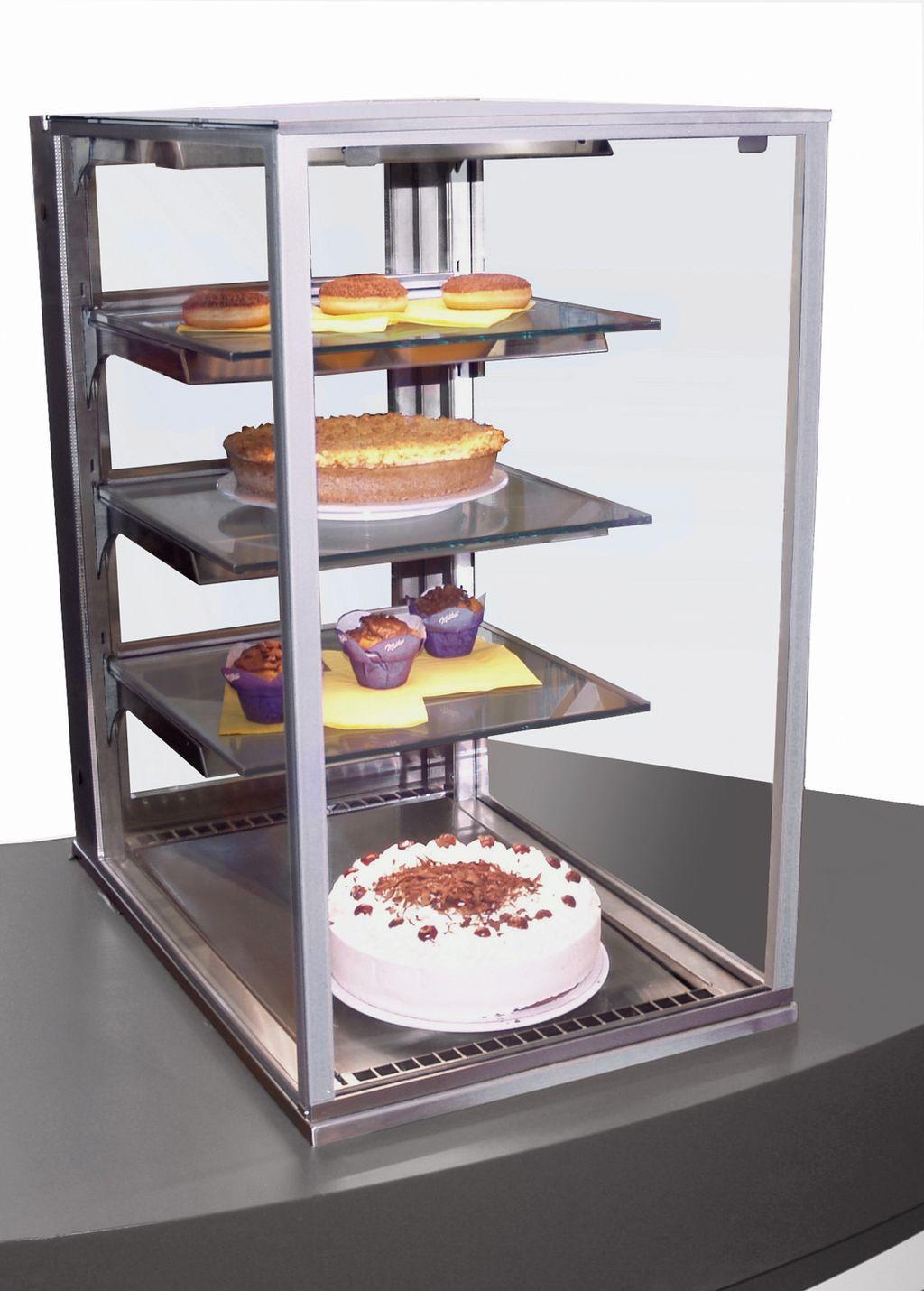 NordCap Einbaukühlvitrine CAKE TOWER 53-E
