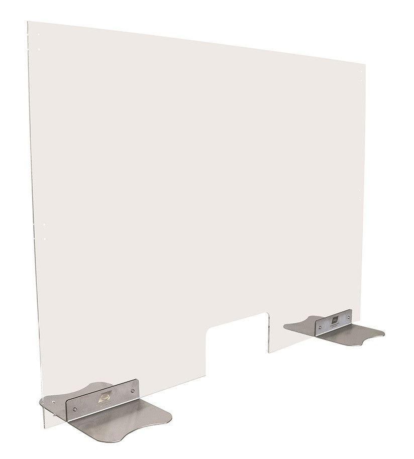 Hygiene-Schutzwand zum Stellen oder Hängen