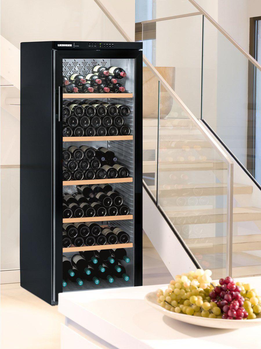 liebherr weintemperierschrank wtb 4212 vinothek weink hlschrank k hlschr nke k hlen. Black Bedroom Furniture Sets. Home Design Ideas
