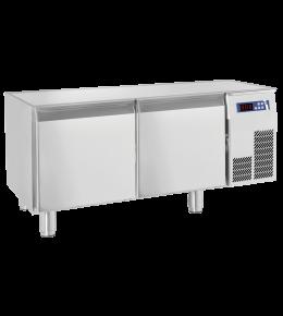 KBS Unterbau-Kühltisch 1 Tür, 2 Schubladen