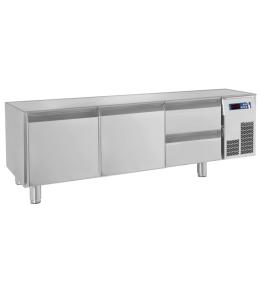 KBS Unterbau-Kühltisch 2 Türen, 2 Schubladen