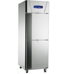 Friulinox Gewerbekühlschrank KU 714 (2türig mit Trennwand)