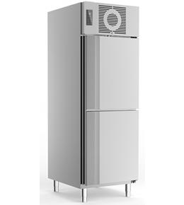 Gewerbekühlschrank GN2//1 Edelstahl Kühlschrank 700 740 L NEU