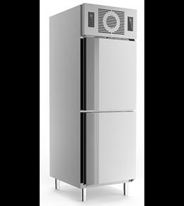 Friulinox Gewerbekühlschrank KU 725 (2türig mit Trennwand)