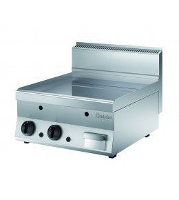 Bartscher Griddleplatte Gas 650, B600, glatt