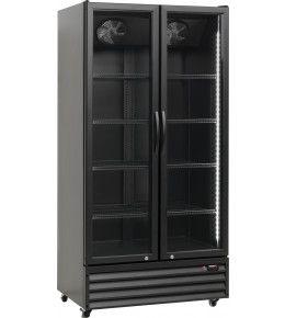 Esta Glastürkühlschrank SD 826Eblack