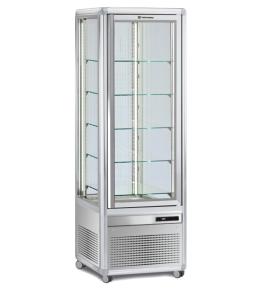 KBS Kuchenvitrine Snelle 351 Q LED (silber)