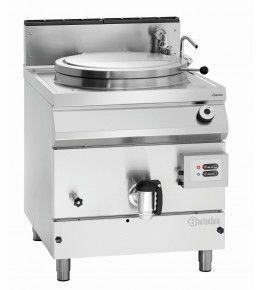 Bartscher Gas-Kochkessel, 135L, Füllstandskontrolle