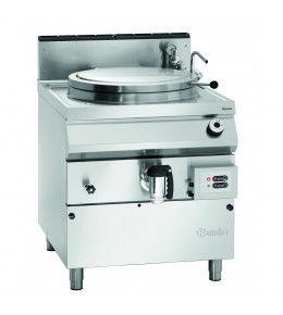 Bartscher Gas-Kochkessel, 100L, Füllstandskontrolle