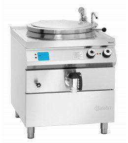 Bartscher Elektro-Kochkessel, 100L, Füllstandskontrolle