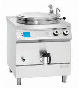 Bartscher Elektro-Kochkessel, 135L, Füllstandskontrolle