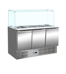 KBS Saladette 904 gerader Glasaufbau