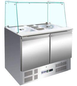 KBS Saladette 908 gerader Glasaufbau