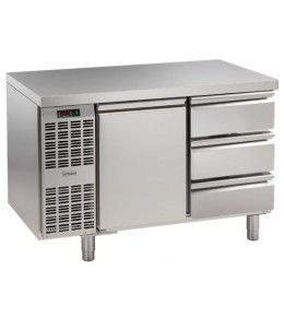 Alpeninox Kühltisch, 2 Abteile CLM 2-7061