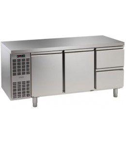 Alpeninox Kühltisch, 3 Abteile CLM 3-7011