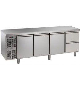 Alpeninox Kühltisch, 4 Abteile CLM 4-7011