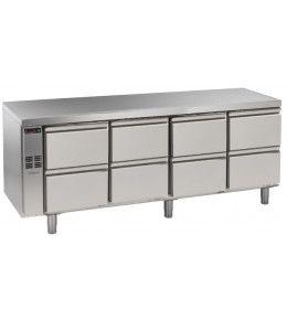 Alpeninox Kühltisch, 4 Abteile CLO 4-7051