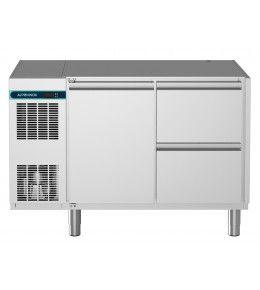 Alpeninox Kühltisch, 2 Abteile CLM 650 2-7011