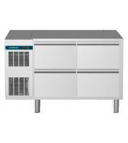 Alpeninox Kühltisch, 2 Abteile CLM 650 2-7031