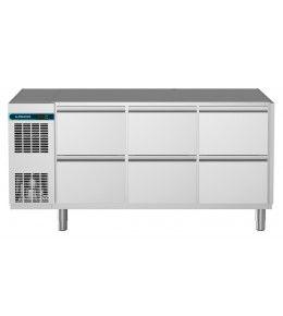Alpeninox Kühltisch, 3 Abteile CLM 650 3-7051
