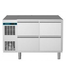 Alpeninox Kühltisch, 2 Abteile CLM 700 2-7031