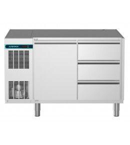 Alpeninox Kühltisch, 2 Abteile CLM 700 2-7061