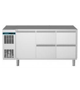 Alpeninox Kühltisch, 3 Abteile CLM 700 3-7031
