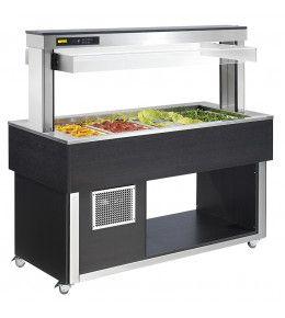 NordCap Salatbar TR-GREEN 6/1