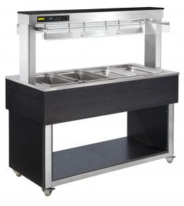 NordCap Bain-Marie TR-RED 3/1