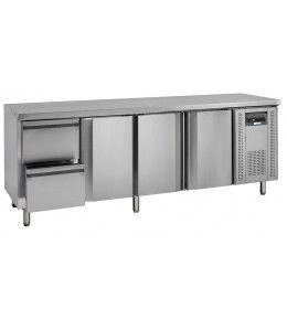 COOL-LINE Kühltisch KTM 4 - 3T 2Z GN 1/1
