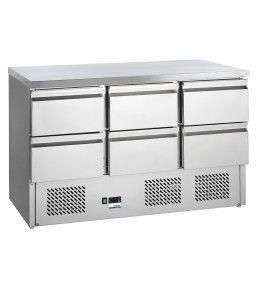 COOL-LINE Universalkühltisch KT 13 6Z