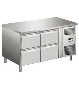COOL-LINE Kühltisch KTM 2 - 4Z GN 1/1