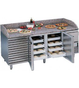 NordCap Pizzakühltisch PT 2-1