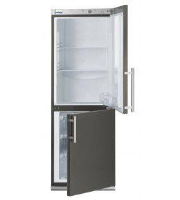 COOL-LINE-Kühl-/ Tiefkühl-Kombination KTK 34 INOX