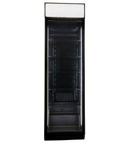 COOL-LINE Glastürkühlschrank CD 400 D BLACK