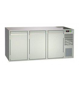 NordCap Unterbaukühltisch UBE 3-65-3T MFR