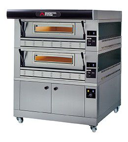 Moretti Forni Gas-Pizzaofen serieP P110G 2-A