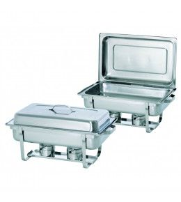 Bartscher Chafing Dish 1/1GN, Twin Pack Set