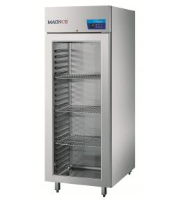 Cool Compact Glastür-Tiefkühlschrank Magnos 570