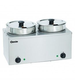 Bartscher Suppenstation Hotpot 2 x 6,5 L