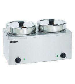 Bartscher Suppenstation Hotpot 2 x 6,5 L