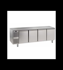 Alpeninox Kühltisch, 4 Abteile CLM 4-7001