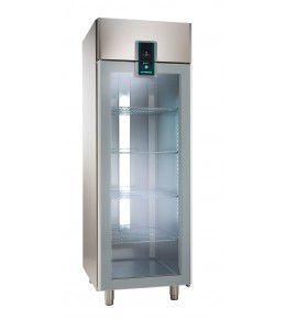 Alpeninox Umluft-Gewerbekühlschrank KU 702-G Premium