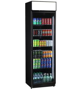 KBS Glastürkühlschrank FLK 365 schwarz