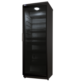 KBS Glastürkühlschrank CD 350 schwarz