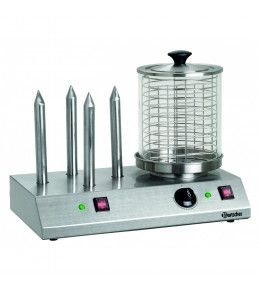 Bartscher Hot Dog Maker/Toaster mit 4 Stangen