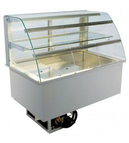 NordCap Einbaukühlvitrine EPV 80-5-KL 4 SB-Klappen