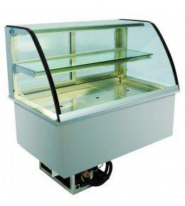 NordCap Einbaukühlvitrine GLR 80-5 mit Isolierglas